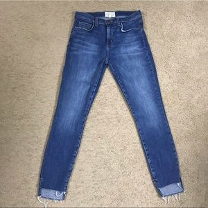 Current/Elliott 'The Stiletto' Skinny Jeans